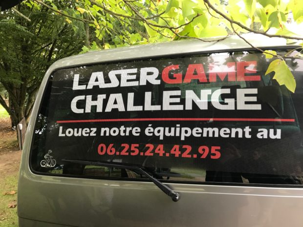 Micro-perforé Laser Game
