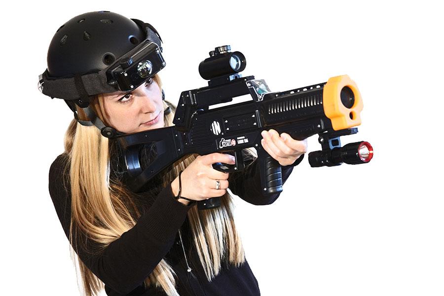 fusil laser game raptor 2s
